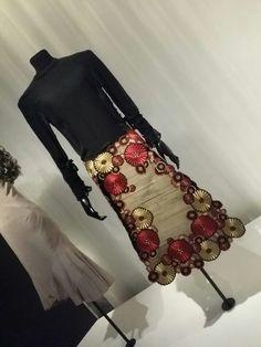 Alexander McQueen skirt for Isabella Blow #powerhousemuseum