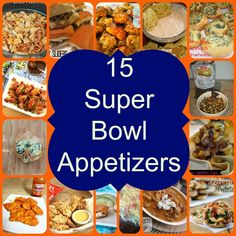 15 Super Bowl Appetizers- Love, Pasta and a Tool Belt Healthy Superbowl Snacks, Football Snacks, Quick Snacks, Football Parties, Best Appetizer Recipes, Vegan Appetizers, Appetizer Ideas, Snack Recipes, Best Chip Dip