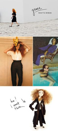 Grace Coddington. Brilliant and inspiring.
