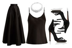 """""""Untitled #2560"""" by fallen-angel-007 on Polyvore featuring La Perla, Amanda Wakeley, Calvin Klein and Gucci"""
