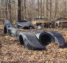 Does anyone know the whereabouts of this abandoned Batmobile in the woods? Jump A Car Battery, Electric Pickup, Drift Trike, Does Anyone Know, Buried Treasure, Nsx, In 2019, Batmobile, Amusement Park