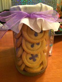 #galletas #cookies galletas en forma de botón