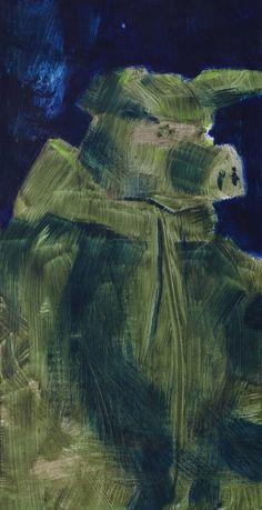 Schwein mit Anorak painting by Jonas Hofrichter