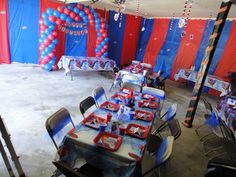 Captivating Cover Walls With Plastic Table Cloths To Make The Room Look More Decorated  For A Party