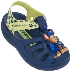 d85a3f50bc Sandália Infantil Patrulha Canina Masculina feita especialmente para os  babys que querem conforto e estilo!
