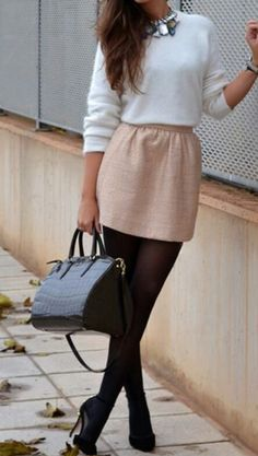 Cute stylish business attire outfit.