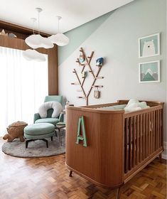 Baby Room Themes 56 Beautiful and Thematic Inspirations Baby Bedroom, Baby Boy Rooms, Kids Bedroom, Baby Room Themes, Baby Room Decor, Baby Room Design, Luxury Homes Interior, Design Your Home, Girl Room