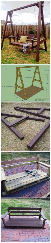 How To Build A Backyard Swing Set