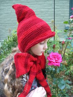 Littler Red Riding Hood by TheCheshiresHat on Etsy, $22.00