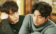 Lee Dong-Wook  and Gong Yoo