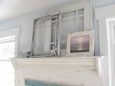 Beachy shabby chic.