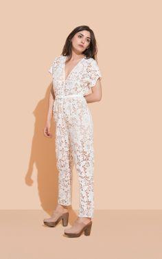 13879bdb42d4 Rachel Comey - Glinda Jumpsuit - Pants Jumpsuits - Clothing - Women s Store  White Lace