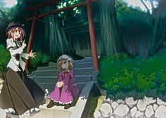Usami holds forth - Shinta - Usami Renko and Maribel Hearn