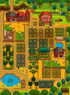 "Stardew ValleySystem: PC Status: Released Release: 2016 Developer: ConcernedApe Website: stardewvalley.net / Steam Video: Trailer Description: ""Stardew Valley is an open-ended country-life RPG! You've inherited your grandfather's old farm plot in..."