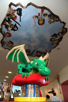 Legoland Hotel in Carlsbad, California has 3,500 models made from more than 3 million Lego bricks!