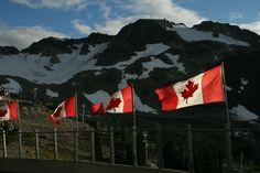 Canada Flag Whistler