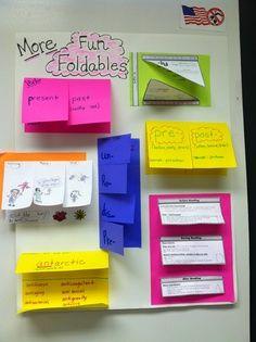 foldables | Love me some Foldables!