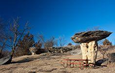 Mushroom Rock SP, Brookville KS