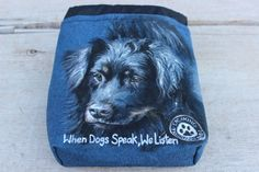 Pet Portrait Custom Dog Treat Training by MountainUrsusDesigns