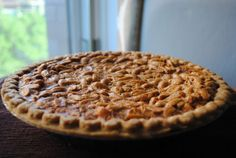 Virginia - Peanut Pie. I have never heard of a peanut pie in all of my 50 plus years here in Michigan. I look forward to trying this recipe.