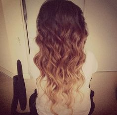 blonde dip dye | Tumblr