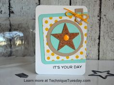 Story Card Sunday: It's Your Day