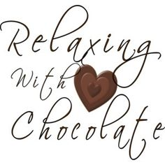 Does chocolate make you relax?