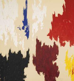Clyfford Still - PH - 21, 1962, oil on canvas