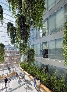 Atrium heel erg buiten  AIA selecteert vier projecten voor de National Healthcare Design Awards