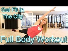 Watch this video tutorial & learn 5 moves that will give you a full body workout! #Fitness #Health #Exercise