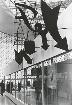 Robert Brownjohn, Ivan Chermayeff and Thomas Geismar. Brussels World Fair. 1958