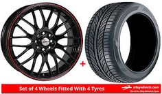 Alloy wheels & #tyres 16'' calibre #motion for vw golf [mk3] 5 stud #92-97,  View more on the LINK: http://www.zeppy.io/product/gb/2/381739328319/