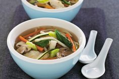 Take soups from starters to the main event with this top fish and noodle soup recipe. It's hearty, tasty and budget-friendly, too.