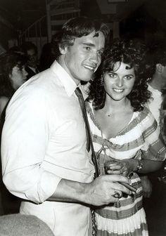 Arnold Scwartzengger & Maria Shriver