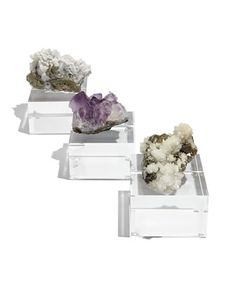 d7a3c5d752 Small Geode Riser Set by Rox by CJ Designs at Bergdorf Goodman. Fashion  Design