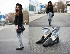 The silver pants (by Anni ***) http://lookbook.nu/look/2797101-the-silver-pants