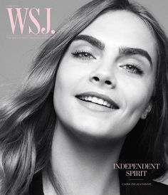 Supermodel turned actress Cara Delevingne takes the cover story of WSJ Magazine's June 2015 issue captured by fashion photographer Daniel Jackson.