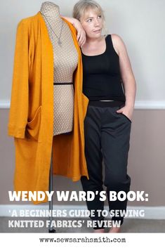 Sewing loungewear - Blogger Book Tour : Wendy Wards 'A Beginners Guide to Sewing Knitted Fabrics'