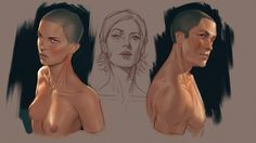 ArtStation - Practice, John Grello Character Concept, Character Art, Concept Art, Character Design, Drawing Sketches, Drawings, Fantasy Books, Painting Techniques, Drawing Reference