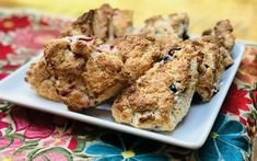Everyone loves a good scone, and while these seem extra gourmet, they're actually so simple to make thanks to pancake and biscuit mix.You can add anything to the dough you want, to customize the flavor . Gluten Free Quick Bread, Gluten Free Bakery, Gluten Free Flour, Lactose Free, Vegan Gluten Free, Gluten Free Recipes, Paleo, Better Batter, Batter Recipe