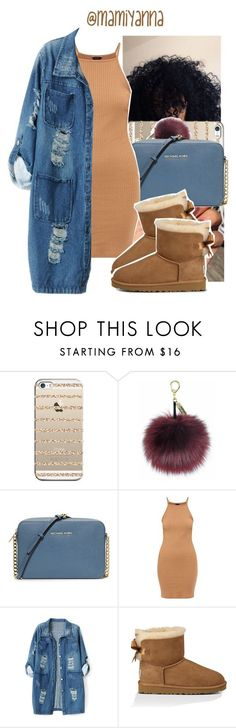 Fire  Desire~ Drake 6ix by mamiyanna ❤ liked on Polyvore featuring Casetify, MICHAEL Michael Kors, Chicnova Fashion and UGG Australia