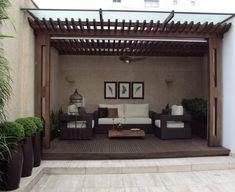 Pergola Installation Near Me Backyard Garden Landscape, Garden Pool, Outdoor Dining, Outdoor Decor, Patio Interior, Wooden Pergola, Pergola Plans, Decoration, Outdoor Gardens