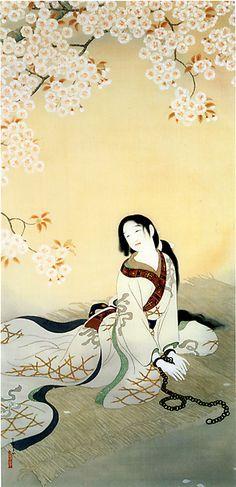 松本華羊 Matsumoto Kayo (1893 - 1961) 『伴天連お春』