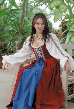 Celtic Dress, nice for ren faire