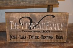 """ESTABLISHED SIGN, FARMHOUSE SIGN COLLECTION, APPROX SIZE 12"""" X 24"""", RUSTIC, 1"""" ROUGH CUT SOLID PINE, HAND CRAFTED WOOD SIGNS, PAINTED WOOD SIGNS, BARN BOARD SIGNS, CHIC WALL DECOR, HOME DECOR, VINTAGE SIGNS, RECLAIMED WOOD SIGNS, ANTIQUE WOOD SIGNS, DISTRESSED WOOD SIGN, CANADA WOODWORKS, ALLISTON ONTARIO CANADA, CANADAWOODWORKS.COM"""