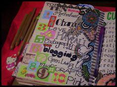 A Crafty Island Girl: Smashbook: Prompts & Doodles