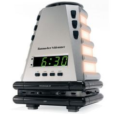 ... or maybe this one... as it had a faint lovely aroma that goes along with the gradual wake up process!!!    light, sound, smell progression wake up clock $69.95