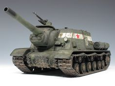 Military Miniatures H. Isu 152, Patton Tank, Tank Armor, Military Armor, Tank Destroyer, Model Tanks, Military Modelling, World Of Tanks, Military Diorama
