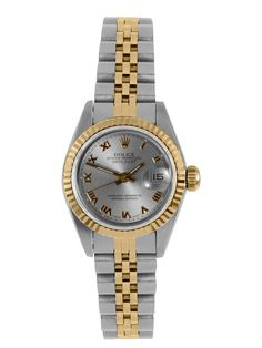DREAM WISH LIST  ~~~ Rolex Oyster Perpetual Datejust Gold & Stainless Steel Watch by Rolex at Gilt