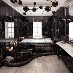 Luxury Bathroom Designs That You Love To Copy - House Interior Ideas bathroomdesigns Luxury Homes Dream Houses, Dream House Interior, Dream Home Design, Modern House Design, Home Interior Design, Modern Mansion Interior, Gothic Interior, Luxury Homes Interior, Interior Ideas